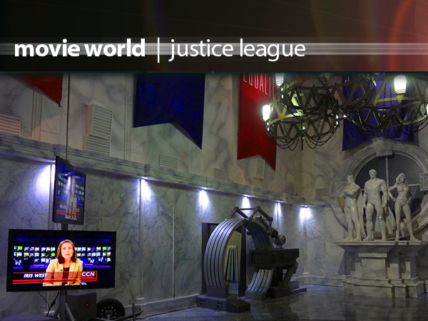 Movieworld Justice League